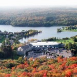 DEERHURST Fall Aerial Pavilion