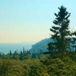 Панорама с трассы - Fundy Trail Parkway