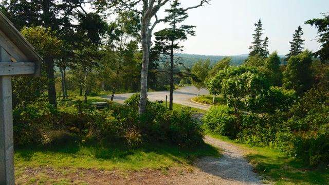 Пешеходный маршрут в Fundy National Park