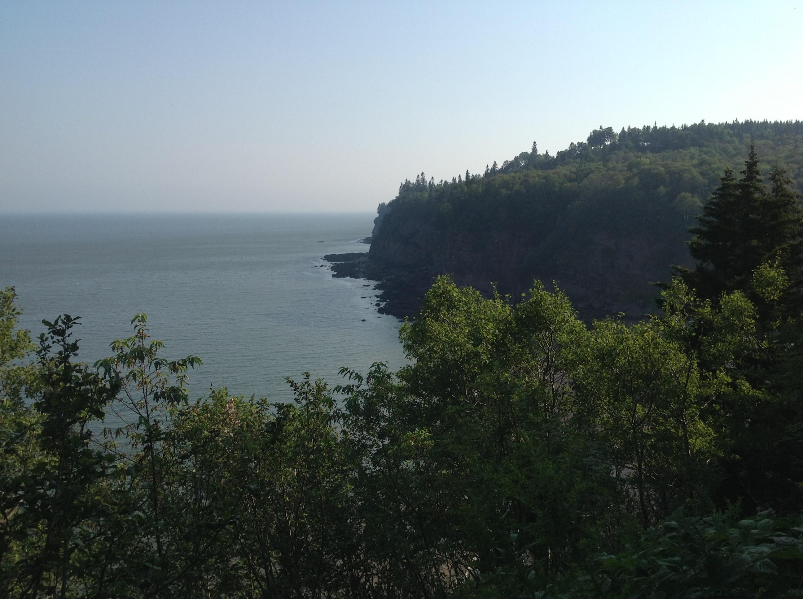 Fundy Bay, NB, Panorama