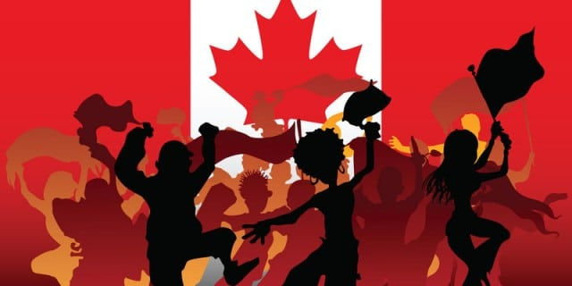 Canada Flag People