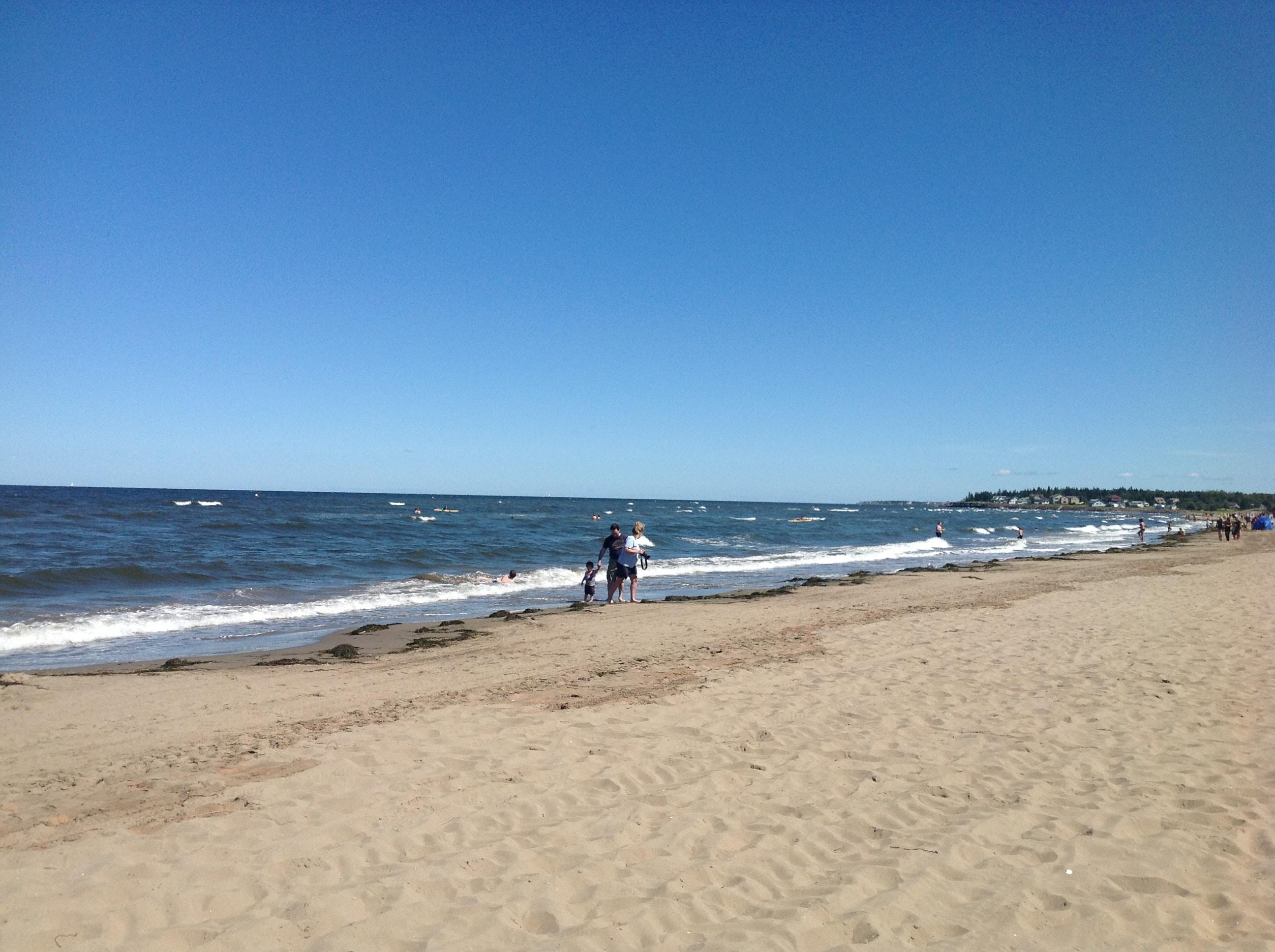 Parlee Beach. NB