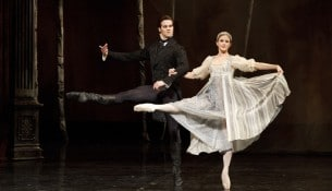 Heather Ogden and McGee Maddox in Onegin. Photo by Bruce Zinger.
