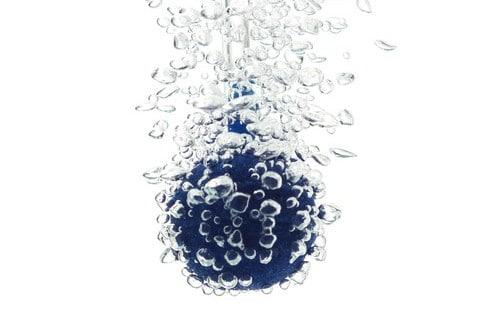 Closeup of Oxygen bubbles